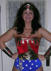 Leather Wonder Woman Costume