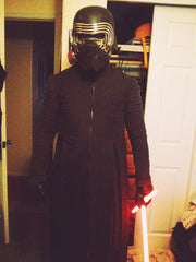 Kylo Ren Wool Mid Coat