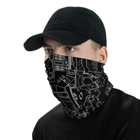 DEEP SPACE NECK GAITER MASK-Dustrial