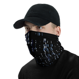 DEFRAG BLUE NECK GAITER MASK-Dustrial