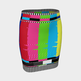 OFF-AIR CHROMA PENCIL SKIRT-Dustrial