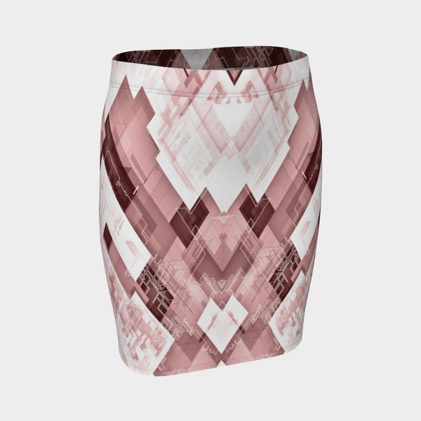 PROXIMA ROSE PENCIL SKIRT-Dustrial
