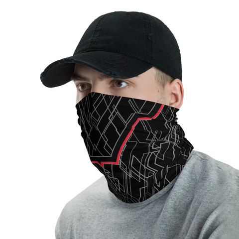 PROXIMA BLVCK NECK GAITER MASK-Dustrial