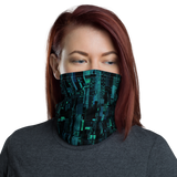 SILICON BLUE NECK GAITER MASK-Dustrial