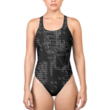 SIERP DECONSTRUCT MONO V2 ONE-PIECE SWIMSUIT-XS-Dustrial