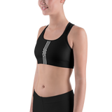 TIAMAT MONO SPORTS BRA-Black-XS-Dustrial