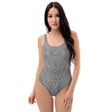 MECH I GRE ONE-PIECE SWIMSUIT