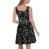 COMPOSITION SKATER DRESS