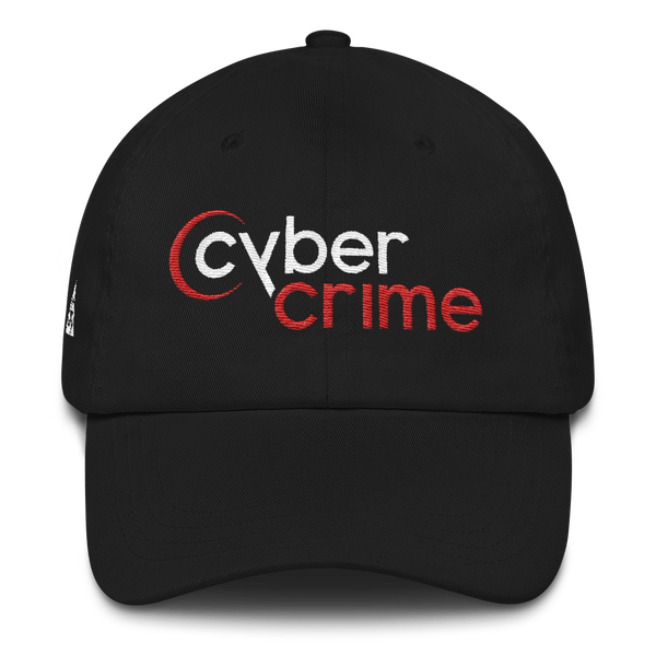 CYBERCRIME NET DAD HAT-Dustrial-future-fashion-scifistreet-HAT-YUP-DAD-Black-