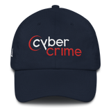 CYBERCRIME NET DAD HAT-Dustrial-future-fashion-scifistreet-HAT-YUP-DAD-Navy-