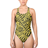 DANGER ONE-PIECE SWIMSUIT-XS-Dustrial