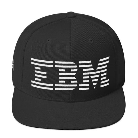 EBM SNAPBACK-Dustrial-future-fashion-scifistreet-HAT-YUP-S-Black-