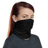 HEX GEN DRK NECK GAITER MASK-Dustrial