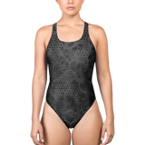 HEX PHASE BLVCK ONE-PIECE SWIMSUIT-XS-Dustrial