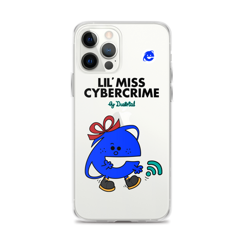 LIL MISS CYBERCRIME IPHONE CASE