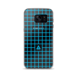 LOW-POLY BLUE SAMSUNG CASE-Dustrial-future-fashion-scifistreet-SAMSUNG CASE-Samsung Galaxy S7-