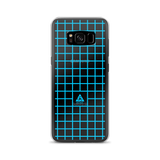 LOW-POLY BLUE SAMSUNG CASE-Dustrial-future-fashion-scifistreet-SAMSUNG CASE-Samsung Galaxy S8-