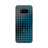 LOW-POLY BLUE SAMSUNG CASE-Dustrial-future-fashion-scifistreet-SAMSUNG CASE-Samsung Galaxy S8 Plus-