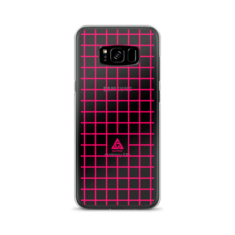 LOW-POLY MAGENTA SAMSUNG CASE-Dustrial-future-fashion-scifistreet-SAMSUNG CASE-Samsung Galaxy S8+-