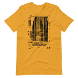NEW WAYS OF SEEING UNISEX T-SHIRT-Mustard-S-Dustrial