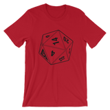 BF D20 UNISEX T-SHIRT-Red-S-Dustrial