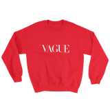 VAGUE CREWNECK SWEATSHIRT-Red-S-Dustrial