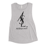 ASL WOMEN'S MUSCLE TANK-Athletic Heather-S-Dustrial