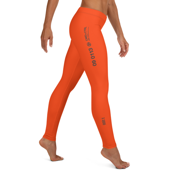 CMD & CTRL SOLID ORA LEGGINGS-XS-Dustrial