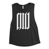 CVLT WOMEN'S MUSCLE TANK-Black Heather-S-Dustrial