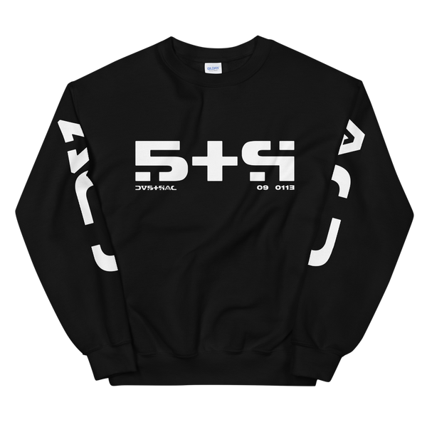 09011E STR CREWNECK SWEATSHIRT-Black-S-Dustrial