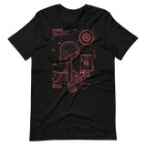 RADIOCURIE UNISEX T-SHIRT-Black Heather-XS-Dustrial