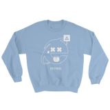 2SAD2WEIRD CREWNECK SWEATSHIRT-Light Blue-S-Dustrial