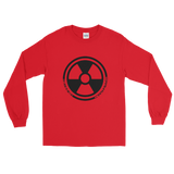 DECAY2K LONG SLEEVE T-SHIRT-Red-S-Dustrial