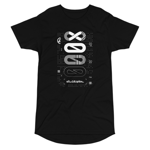 XERODUSTRIAL MONO LONG BODY T-SHIRT