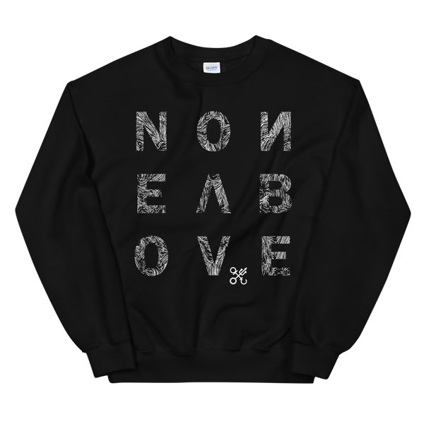 NONE ABOVE CREWNECK SWEATSHIRT-S-Dustrial