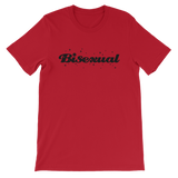 BISEXUAL BLING UNISEX T-SHIRT-Red-S-Dustrial