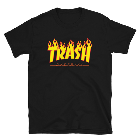 TRASH BUDGET TEE-Black-S-Dustrial