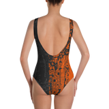 DEFRAG RAID 0 ONE-PIECE SWIMSUIT