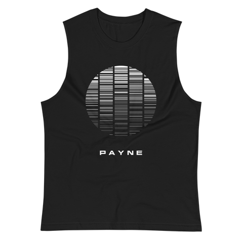PAYNE MUSCLE TANK-Black-S-Dustrial