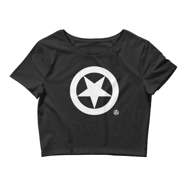 MORNING STAR CROP TEE-XS/SM-XS/SM-Dustrial