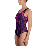 PURPLE HAZE ONE-PIECE SWIMSUIT-Dustrial