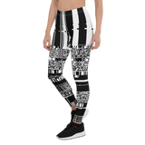 MACPAINT MONO V2 LEGGINGS-Dustrial