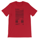 LETRADUST UNISEX T-SHIRT-Red-S-Dustrial