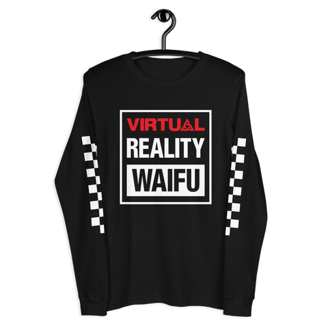 VR WAIFU LONG SLEEVE T-SHIRT