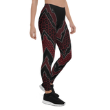 SCORPIO RED LEGGINGS-Dustrial