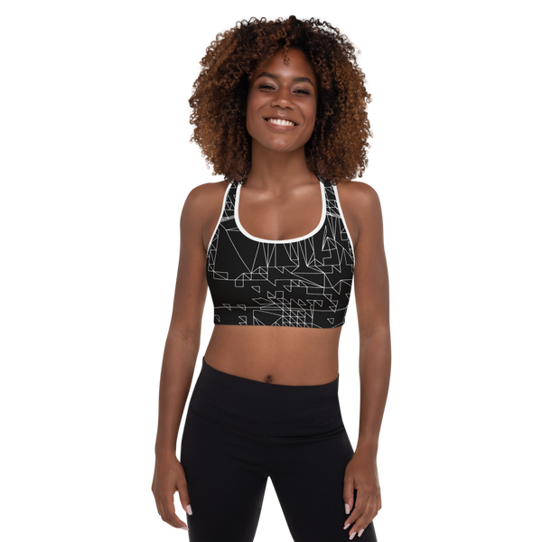 SIERP DECONSTRUCT MONO V2 PADDED SPORTS BRA-XS-Dustrial