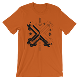 DOUBLE DOUBLE CROSS CROSS UNISEX T-SHIRT-Autumn-S-Dustrial
