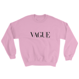 VAGUE CREWNECK SWEATSHIRT-Light Pink-S-Dustrial