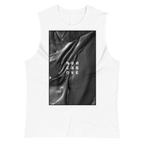 NONE ABOVE MUSCLE TANK-White-S-Dustrial