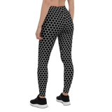 HEXAGON MONO LEGGINGS-XS-Dustrial